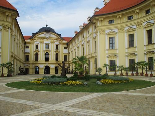 Slavkov u Brna - zámek