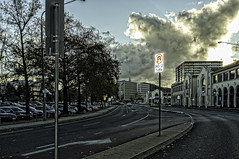 No U Turn (norm_p) Tags: fujifilmx100 fujix100 canberra afternoon sky weather cold contrejour