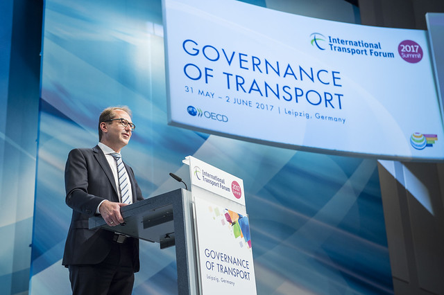Alexander Dobrindt on changes in transport