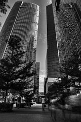 Sunday Strolling (Kevin KY Fan) Tags: blackwhite monochrome cmepttb72 canonsg longexposure slowshutter cityscape street 10stopfilter nisifilter kevinkyfan