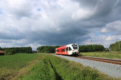 GTW 10260 komt aan te Marienberg (vos.nathan) Tags: arriva gtw 10260 ellen ten damme mrb marienberg 260