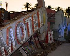 Neon Boneyard (magnetic_red) Tags: signs neon lasvegas boneyard old vintage historic landmark history