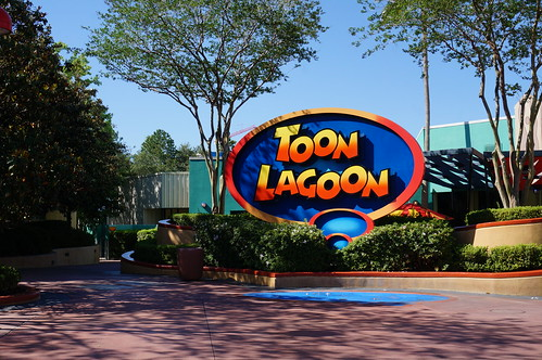 """Universal Studios, Florida: Toon Lagoon Sign • <a style=""""font-size:0.8em;"""" href=""""http://www.flickr.com/photos/28558260@N04/34365350000/"""" target=""""_blank"""">View on Flickr</a>"""
