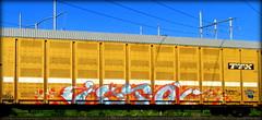isto TCI (timetomakethepasta) Tags: isto tci kerse lutes freight train graffiti art autorack ttx benching selkirk new york photography
