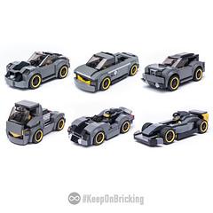 6 models from SC 75877 set (KEEP_ON_BRICKING) Tags: lego speed champions 2017 75877 set mod moc alternate build remix remake car vehicle mercedes amg legoset legocar keeponbricking
