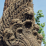 Naga for Peace Statue in Battambang, Cambodia -2 thumbnail