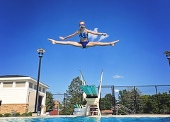 365 Project - June 3 (lupe1515) Tags: 365 project olivia straddle jump diving board swimming pool