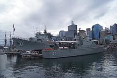 HMAS' Advance & Vampire (coghilla) Tags: anmm australian nation maritime museum hmas vampire advance darling harbour sydney d11 p83 destroyer patrol boat ship