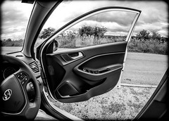 Hyundai i20 1.2SE a door view. . . (CWhatPhotos) Tags: cwhatphotos interior door open olympus omd em5 mkii mk ii four thirds view digital camera photographs photograph pics pictures pic picture image images foto fotos photography artistic that have which with contain artistc art light auto automobile car white hyundai i20 hyundaii20 12se 12 se vehicle 2017 new brand wind turbine turbines renewable energy farm countryside flickr