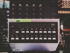 Welcome to the family my firts sequencer sq 1 by korg....