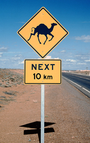 Sign near Coober Pedy