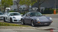 Cars & Coffee - Porsche Center Oakville 2017 (chaozbanditfoto) Tags: oakville ontario canada porsche 987c cayman gt4 caymangt4 911 930 carrera 911carrera