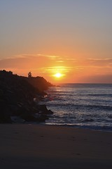 Sunrise. (Hannahmaree3) Tags: newcastle sunrise nsw nobbyslighthouse midnorthcoast ocean visitnewcastle