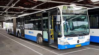 GVB Amsterdam Mercedes Citaro city bus number 343