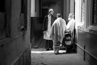 Street shot, Varanasi India