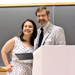 Megan Dwyer, Distinction in Psychology; Robert Wickesberg