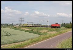 DBC 6433 - 59609 (Spoorpunt.nl) Tags: 3 juni 2017 dbc db cargo 6433 klmos vuile ballast trein 59609 wieldrechtse zeedijk dordrecht