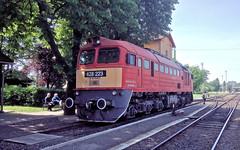MAV 628 223 at Orosháza Station, Hungary (davids pix) Tags: budapest oroshaza station diesel locomotive mav 628 223 hungary 2017 15052017