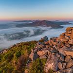 'Sea-Mists At Sunset' - Garn For, Snowdonia thumbnail