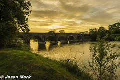Kilrea Bridge Sunset HDR (RattySV) Tags: nikon nikond7200 sigma1020mmf456 kilrea riverbann