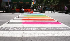 #dcrainbowcrosswalks ️‍🌈in #activetransportation Washington, DC USA  #asdcgoessogoesthenation