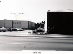 Menlo Park 1968: El Camino Real, West Side (menloparkplanning) Tags: mp1968downtownecr menlopark california sanmateocounty historicalphoto historical elcaminoreal 1968 alec