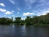 Across the Grand (joeldinda) Tags: apple iphone 2017 ioniacounty portland bogueflats tree park sky cloud michigan grandriver river 3634 may 149365