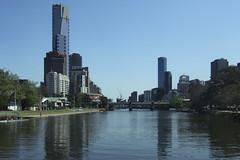 Get Clean (Swebbatron) Tags: australia melbourne 2008 city victoria fuji radlab buildings riveryarra reflection travel