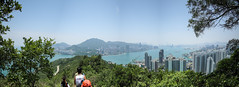 IMG_5529-全景 (fung1981) Tags: devilspeak hk harbor harbour hongkong kln kowloon pautoishan victoriaharbor victoriaharbour 九龍 炮台山 維多利亞港 香港 魔鬼山