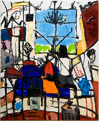 Living Room (Neal Turner) Tags: nealturnercom art paris france french frenchoilpainting oilpainting contemporary nealturner neil originalart sorbonne painting expressionist expressionism oil cityscape nude portrait figurative modern balzac contemporaryartist contemporaryart contemporaryoilpainting postimpressionist postimpressionism postmodern modernist neilturner originalpainting contemporarypainting dailypainting apaintingaday hauserwirth gagosiangallery michaelwerner davidzwirner theholegallery luringaugustine thepacegallery gladstonegallery paulkasmingallery cheimandread cheimread adambaumgoldgallery tiltongallery metamodern metamodernism