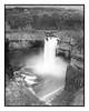 Palouse Falls in B&W (zen3d ☯) Tags: palouse palousefalls waterfall