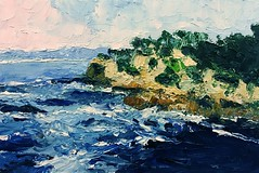 Point Lobos (jimblodget) Tags: painting oil seascape california pointlobos