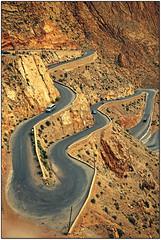 Marocco... (rogilde - roberto la forgia) Tags: marocco montagna africa tornanti curve vetta arrivo partenza