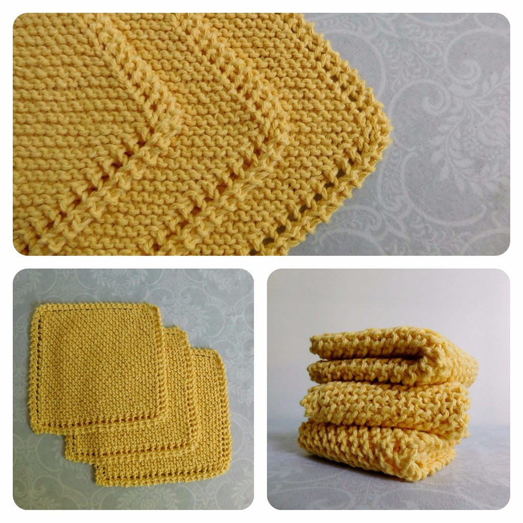 Farmhouse Kitchen Knitted Dishcloth: The World's Best Photos By Gingeryarnco