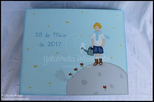 """Caixa de batizado """"Pequeno Príncipe"""""""