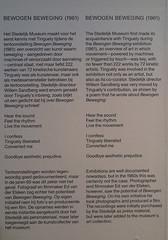2017-01-25 Amsterdam; Stedelijk Museum; JEAN-TINGUELY MACHINE-SPECTACLE; 'Bewogen beweging IMG 1591 (ellapronkraft.) Tags: 20170125 amsterdam stedelijk museum jeantinguely machinespectacle bewogen beweging