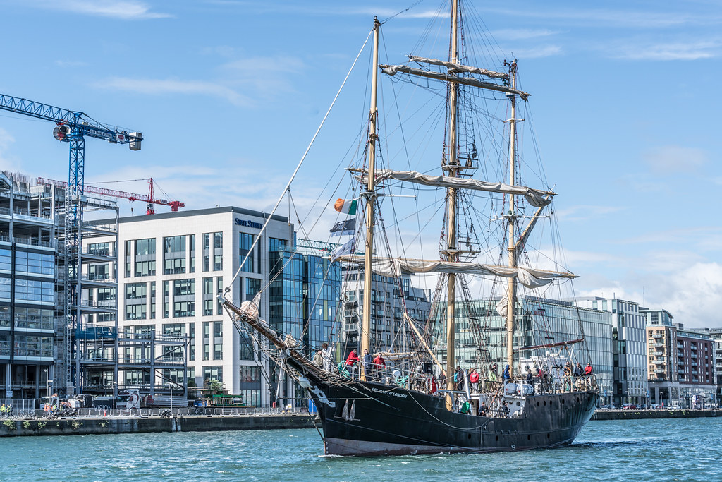 PELICAN OF LONDON [TALL SHIPS LEAVING DUBLIN PORT TUESDAY JUNE 6 2017]-129387