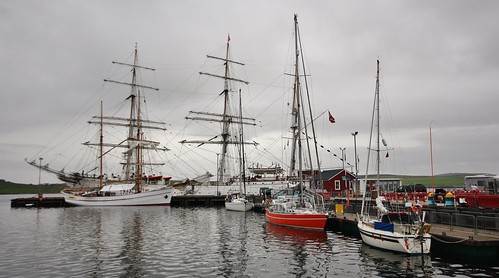 ships yachts lerwickharbour