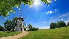 Windmill 3105 (YᗩSᗰIᘉᗴ HᗴᘉS +6 000 000 thx❀) Tags: moulin windmill sky blue bluesky hensyasmine opprebais belgium
