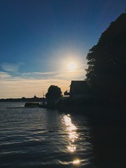 Reflecting how I feel for you, And thinking about those people then, I know that in a thousand years, I'd fall in love with you again.. (erlingraahede) Tags: deutsland vsco reflection light sunset moody poetic germany schleswig