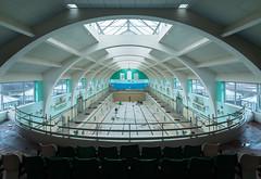 Art Decco Pool 2 (Paul J Photography) Tags: urbex pool swimming swimmingpool england
