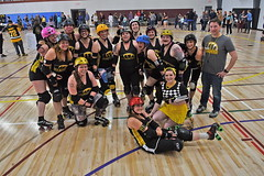 DPA_5945 (scrdphotos1) Tags: steel city roller derby rollery steelhurtin beamers scrd pisa pittsburgh skating skates rough reading blue ridge girls team home game