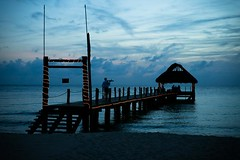 Romantic Dinner on the Pier (Sirena Delmar) Tags: romanticdinner pier night landscape
