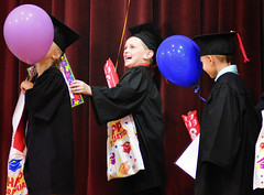 Graduate (DaveLawler) Tags: charlie graduate graduation school prek stage ceremony cap gown balloons