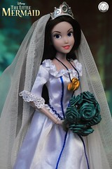Vanessa/Ursula's Wedding (PrinceMatiyo) Tags: doll toyphotography disneyvillain disneystore disney ursula thelittlemermaid vanessa