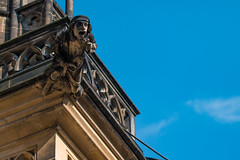 St. Vitus Cathedral Gargoyles (nan palmero) Tags: prague prag praga praha cz czechrepublic samsung samsungcamera gargoyles czechia