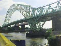 DSCF0687E Silver Jubilee Bridge, Widnes (Anand Leo) Tags: silverjubileebridge rivermersey widnes halton