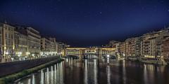 Ponte Vecchio (Giovanni Giannandrea) Tags: florence firenze pontevecchio arno tuscany toscana spandrel stars italy italia notturna rinascimento arte
