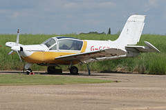 G-CCZA (QSY on-route) Tags: gccza lincoln aero club mid summer fly in sturgate 04062017