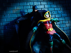 Father and son angle 2 (metaldriver89) Tags: dcicons icons dc arkham knight arkhamknight arkhamcity dccollectibles cowl batman darkknight dark custom cloth cape customcape dcuc universe classics batmanunlimited legacy unlimited actionfigure action figures toys mattel matteltoys new52 new 52 brucewayne bruce wayne acba articulatedcomicbookart articulated comic book art movie the thedarkknight thedarkknightrises dccomics batsignal bat signal gotham gothamcity actionfigures figure toyphotography toy rebirth damian damianwayne robin son father